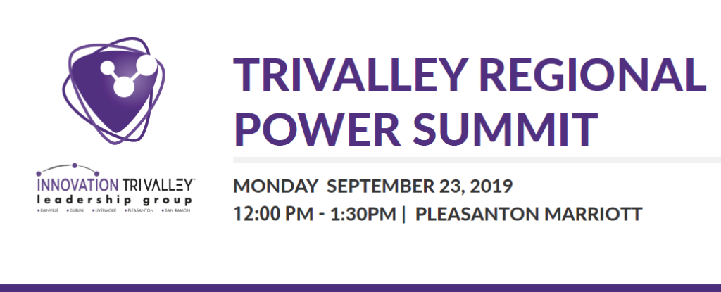 Tri-Valley Regional Power Summit